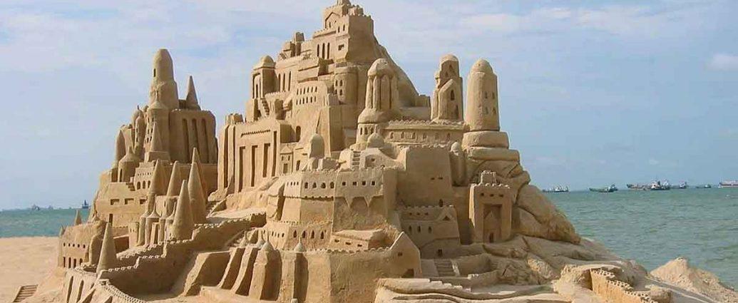 myths falling like sand castle