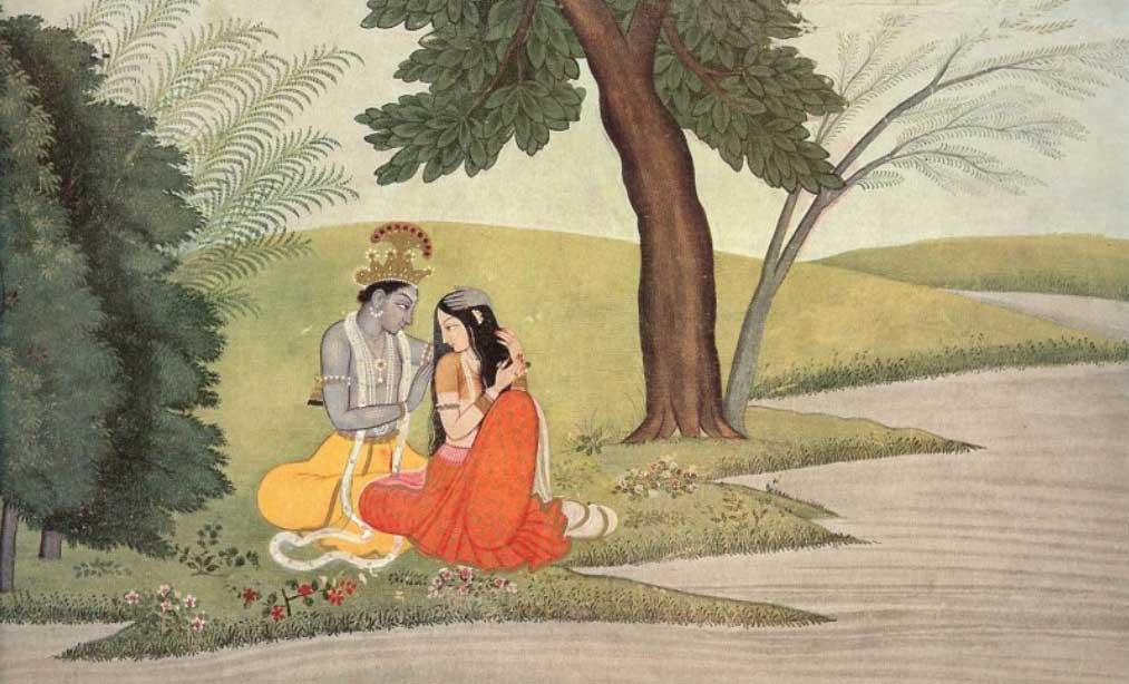 любов в Индия