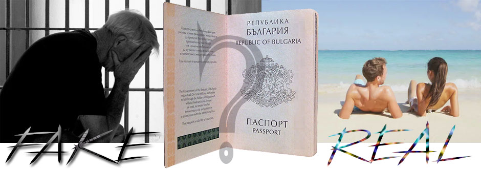 fake Bulgarian passport