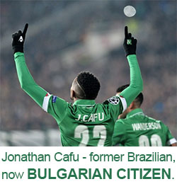 Brazilian football players obtaining Bulgarian passports