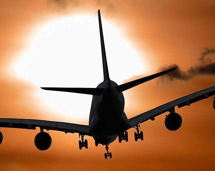 пристигане в България със самолет
