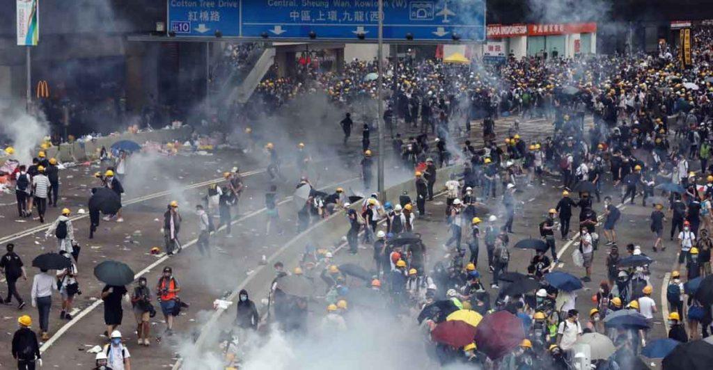 Hong Kong riots 2019