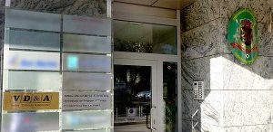 office Posolstvo.eu - entrance