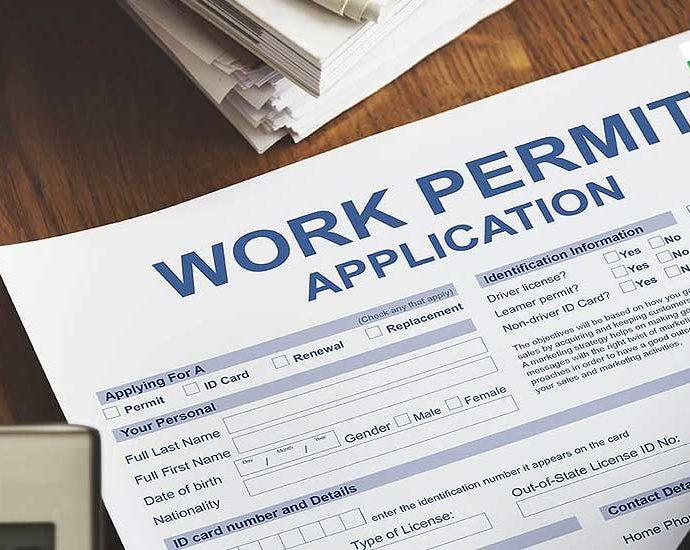 разрешение за работа в България