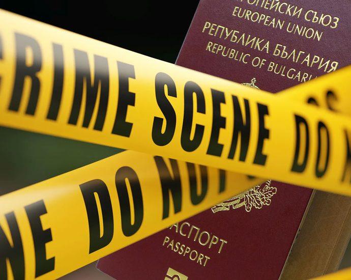 български паспорт и престъпление