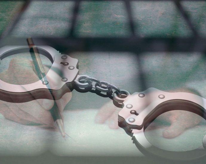 арест България белезници