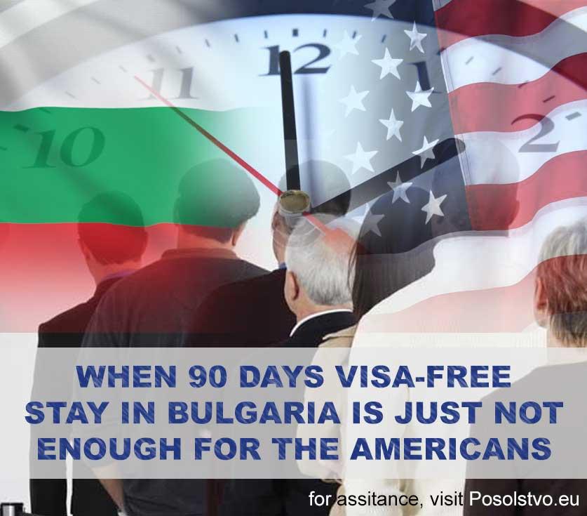 90 days visa-free Bulgaria for Americans
