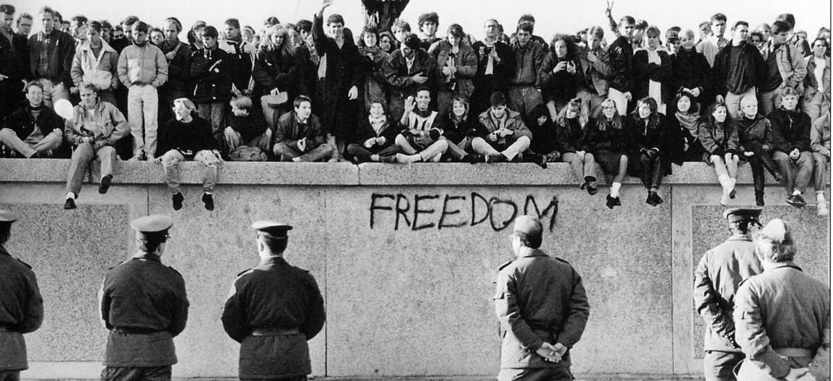 бюрокрация берлинска стена