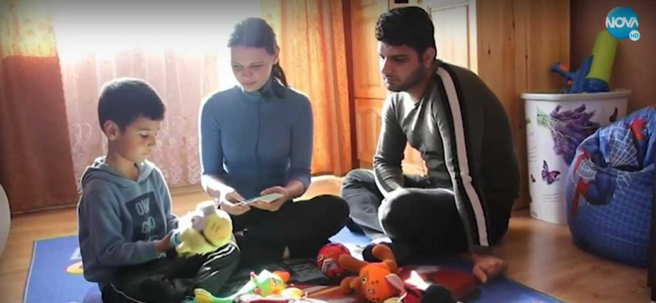 Гергана, Акил и детето им в Добрич
