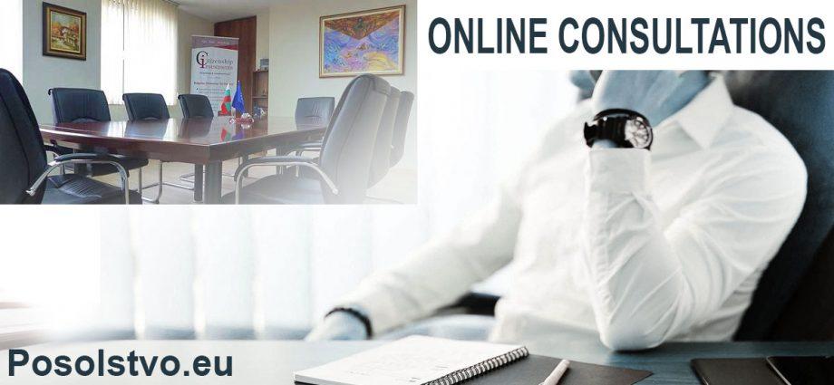 Online consultation Posolstvo