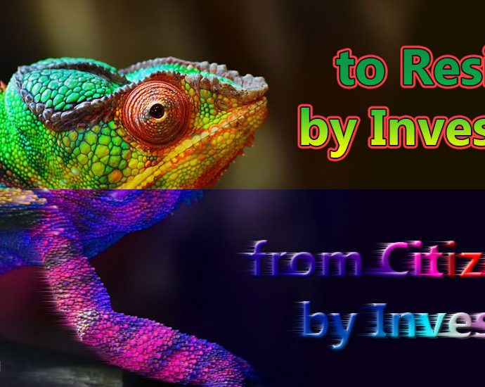 from citizenship to residence - Chameleon transformation